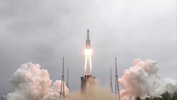 Szczątki chińskiej rakiety spadną na Ziemię. Nie ma nad nimi kontroli