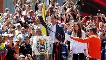Wenezuela: Guaido wzywa wojsko do przejścia na stronę opozycji