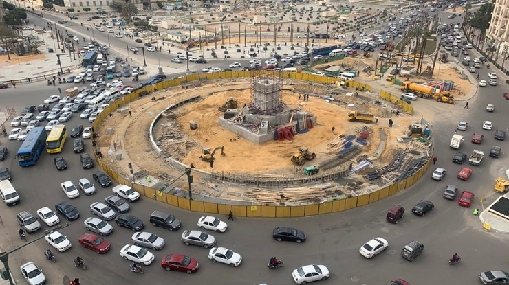 Zmiany na kairskim placu Tahrir. Od teraz ma nie przypominać o arabskiej wiośnie