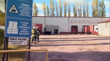 Wyciek silnie trującego kwasu w Pruszczu Gdańskim. Pracownicy ewakuowani