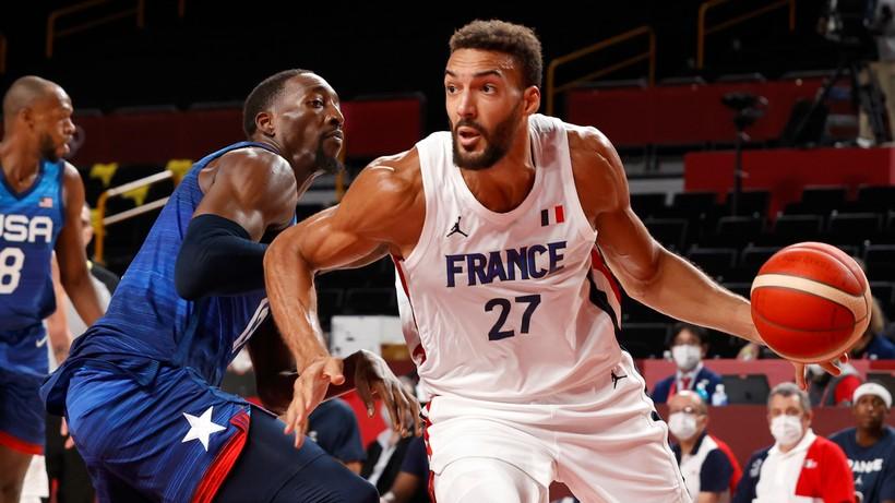 Tokio 2020: Francja wygrała z USA w turnieju koszykarzy