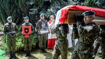 """""""Był nieugiętym żołnierzem i dowódcą"""". We Włodawie pochowano Leona Taraszkiewicza ps. """"Jastrząb"""""""