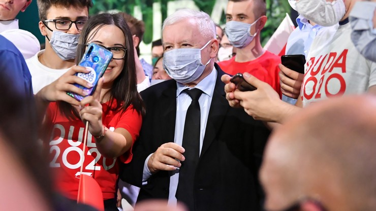 Kaczyński do młodych w Lublinie: Polska powinna zostać wyspą wolności