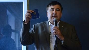 Ukraina nie wpuści Saakaszwilego i odbierze mu paszport