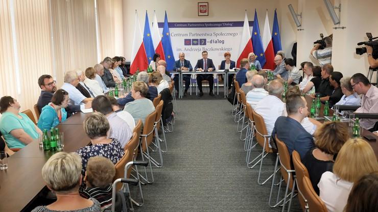 W Sejmie spotkanie ws. niepełnosprawnych. Bez żadnego uczestnika protestu z kwietnia i maja