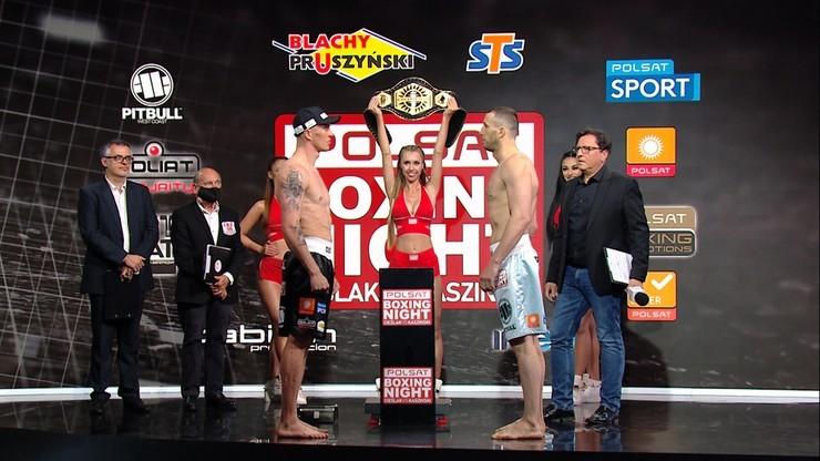 Polsat Boxing Night: Karta walk