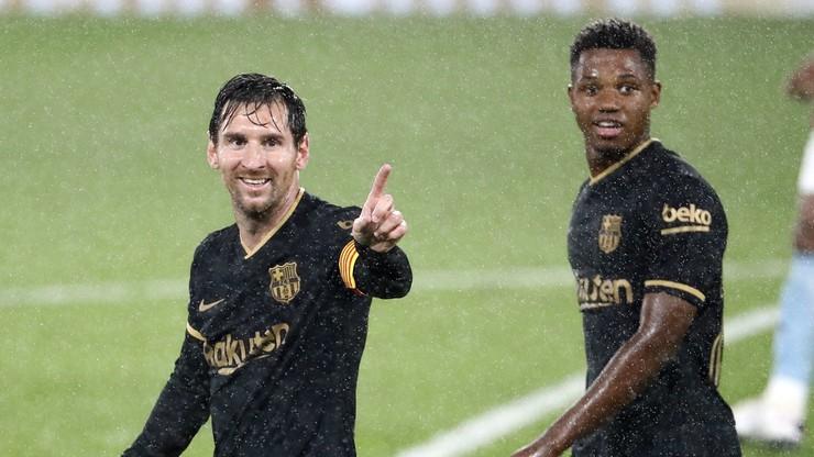 Barcelona wygrała w Vigo po pięciu latach. Kolejny gol Fatiego