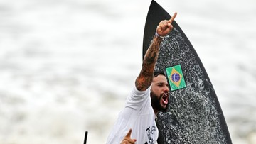 Tokio 2020: Brazylijczyk z pierwszym złotem w historii w surfingu
