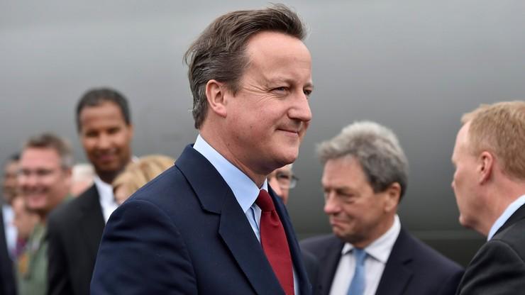 Cameron po raz ostatni przewodniczył posiedzeniu rządu