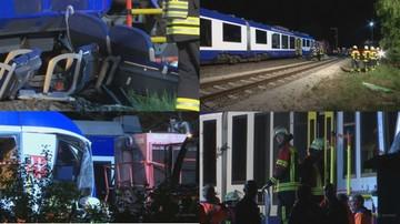 Kolizja pociągów w Niemczech. Nie żyją dwie osoby