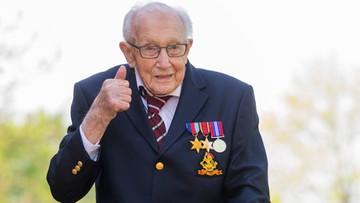 99-letni weteran zebrał 23 mln funtów dla służby zdrowia. Teraz zdalnie  otworzy szpital