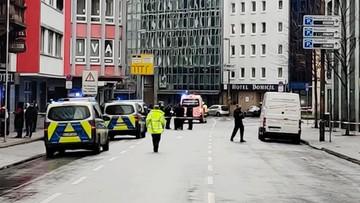 Atak nożownika w Niemczech. Trzy osoby ciężko ranne