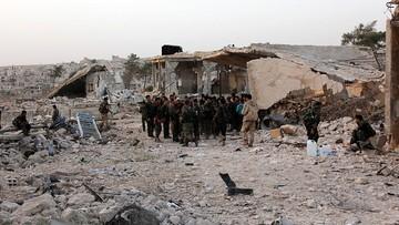 Syryjska armia żąda od rebeliantów opuszczenia wschodniej części Aleppo