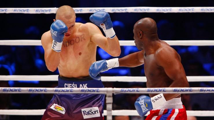 Warsaw Boxing Night: Cieślak poznał rywala