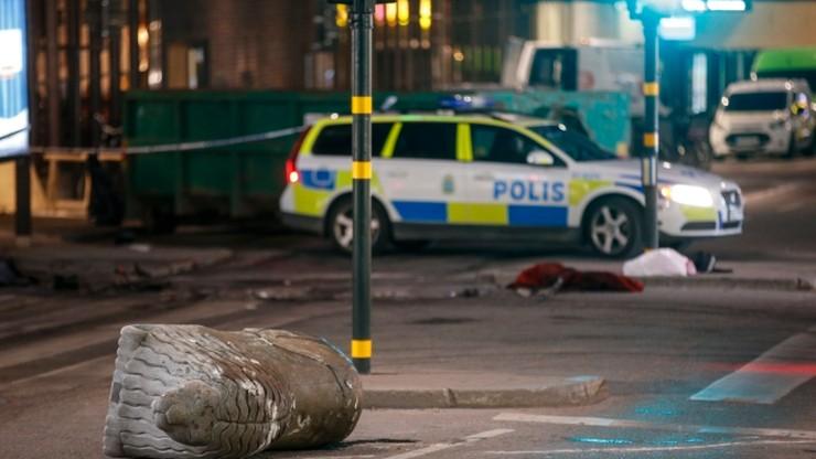 Szwedzka telewizja: aresztowano drugiego mężczyznę po ataku w Sztokholmie