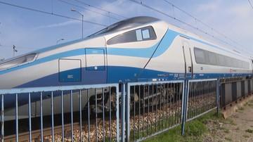 Ewakuacja 380 pasażerów pociągu relacji Warszawa-Wrocław