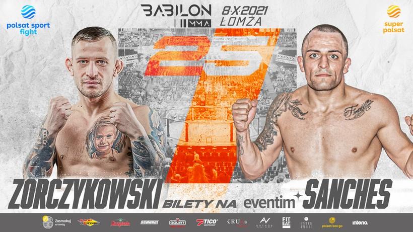 Babilon MMA 25: Zorczykowski poznał rywala! Kutyła sprawdzi się z Lottą