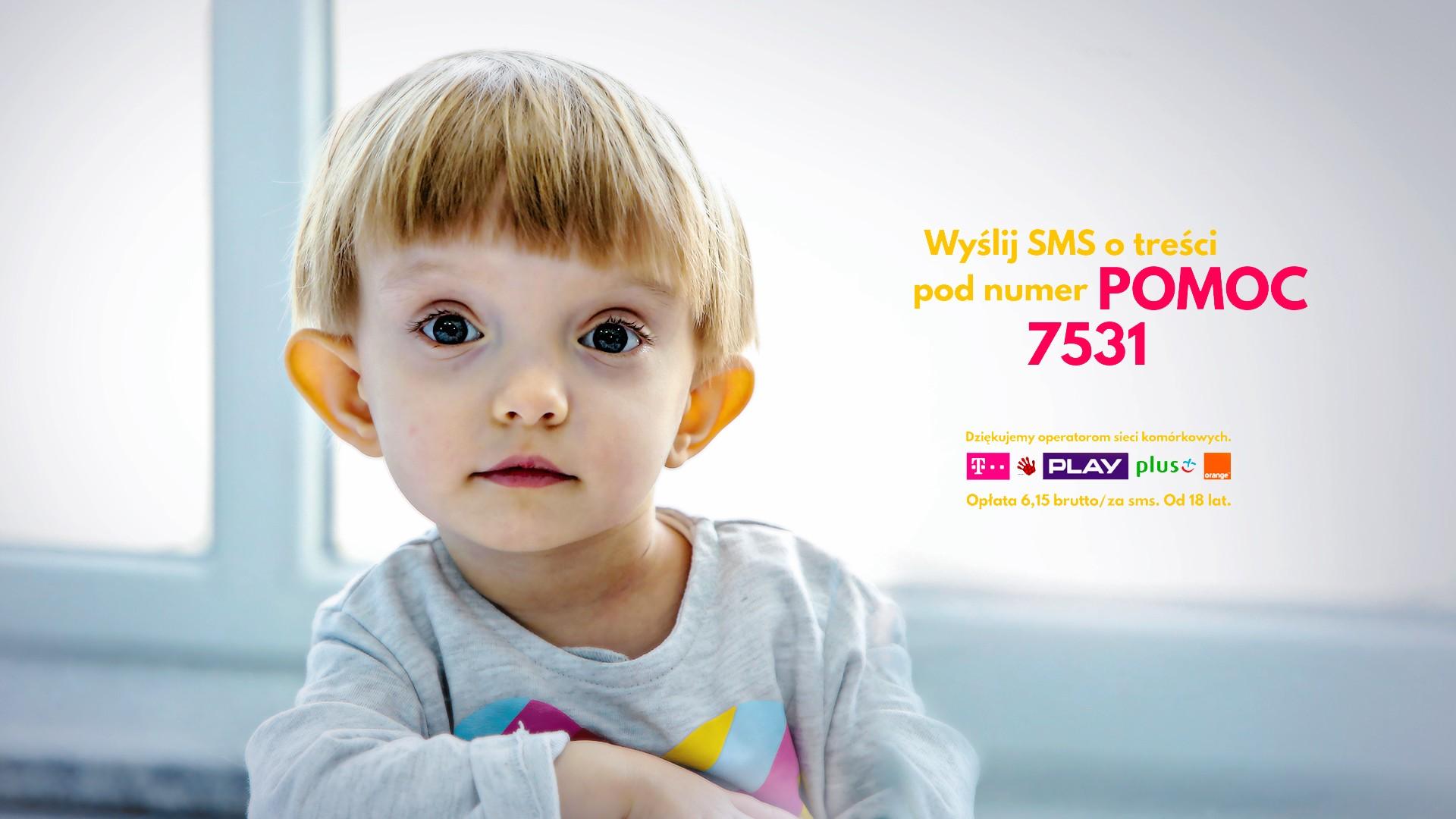 Wysyłając SMS pomagasz dzieciom takim jak Julka w codziennej walce o zdrowie