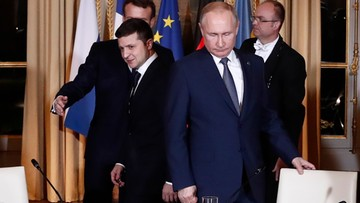 Putin: przekazanie Ukrainie granicy w Donbasie grozi drugą Srebrenicą