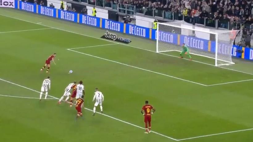 Szczęsny obronił karnego w meczu Juventus - Roma (WIDEO)
