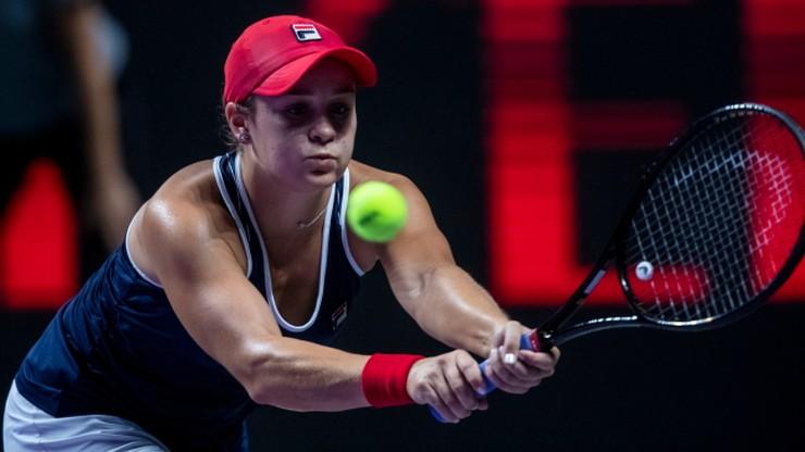 WTA Finals: W finale broniąca tytułu Switolina i liderka rankingu Barty