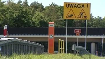 40-kilometrowy korek na A4. Budowa wiaduktów, wypadek i niemieckie święto odpowiedzialne za blokadę autostrady