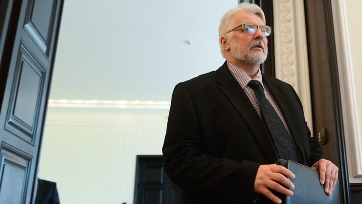 Waszczykowski w rozmowie z szefem MSZ Węgier wyraził solidarność z Budapesztem