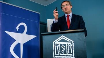 Prezes Naczelnej Rady Lekarskiej do premier: potrzebna zmiana funkcjonowania rzecznika pacjentów