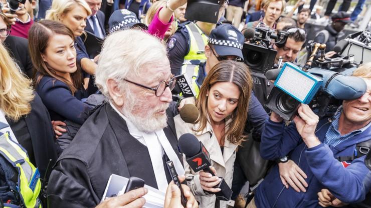 Australijski kardynał, do niedawna wpływowy dostojnik Watykanu, skazany za pedofilię