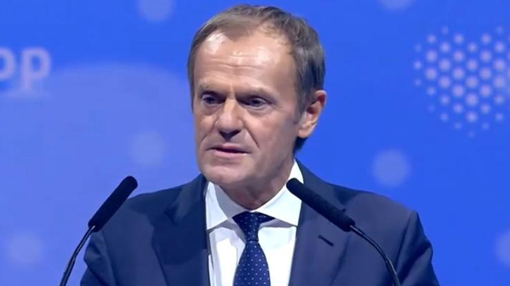 """Tusk nazwał Wójcika """"hazardzistą"""". To reakcja na słowa ministra z """"Gościa Wydarzeń"""""""