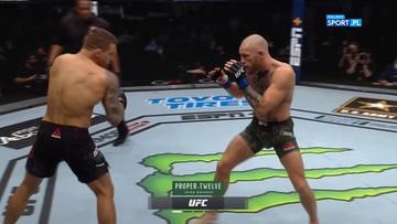 UFC 257: Dustin Poirier - Conor McGregor. Skrót walki
