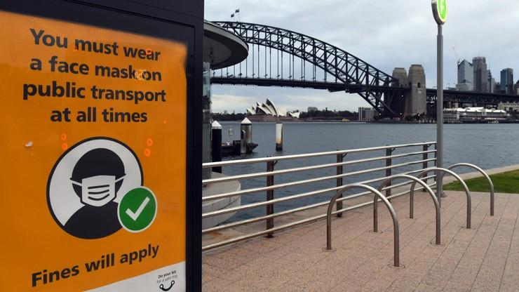 Koronawirus. Rekordowy bilans zakażeń w Sydney. Poproszono o pomoc wojsko