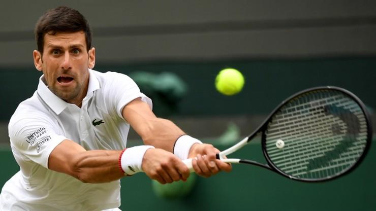 Wimbledon: Szybki awans Djokovica do ćwierćfinału