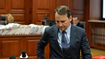 Sikorski przed sądem: nie zajmowałem się organizacją wizyty z 10 kwietnia 2010 r. w Smoleńsku