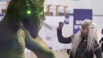 """""""Gra o Tron"""" i premier. Szczepionkowy spot Izraela robi furorę w sieci"""