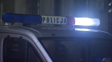 Prawie potrącił policjanta, uderzył w drzewo i uciekł do lasu. Policyjny pościg w Zielonej Górze