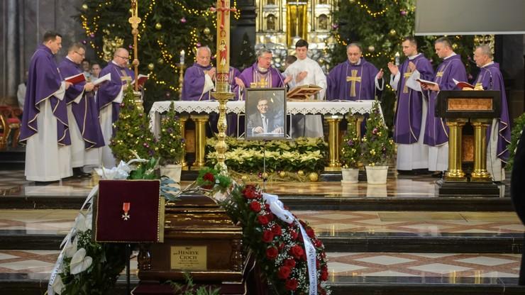 Sędzia TK, prof. Henryk Cioch został pochowany na cmentarzu w Lublinie