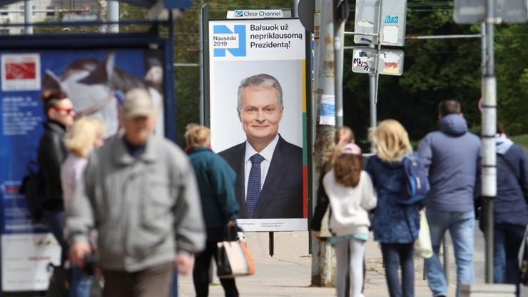 Litwa: frekwencja w wyborach prezydenckich wyniosła 56,5 proc.