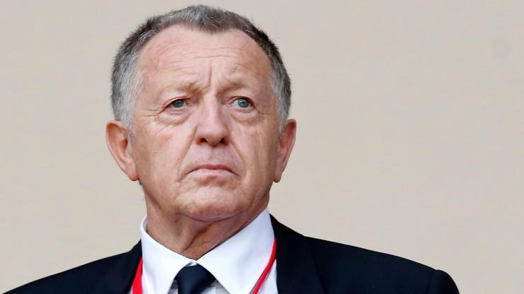 Prezydent Olympique Lyon wściekły na Ligue 1. Chce ogromnego odszkodowania