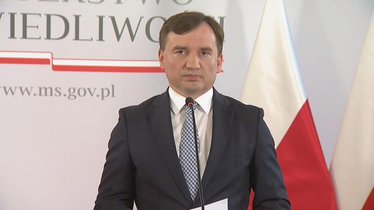 Minister sprawiedliwości odwołał się od wyroku nakazującego mu przeprosić prezes krakowskiego sądu