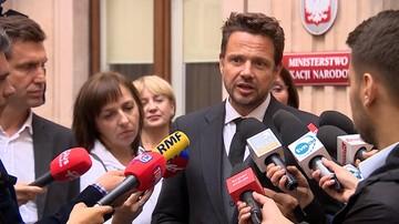 """Trzaskowski rozmawiał z Piontkowskim. """"Padły pierwsze propozycje"""""""