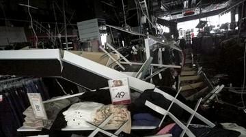 W sklepie w Galerii Rzeszów spadł sufit. Sześć osób w szpitalu