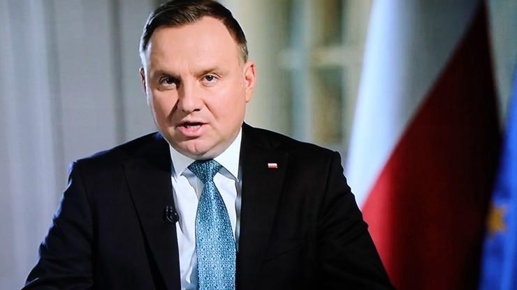 Prezydent: jest nadzieja na ograniczenie pożaru w Biebrzańskim PN w najbliższych dniach
