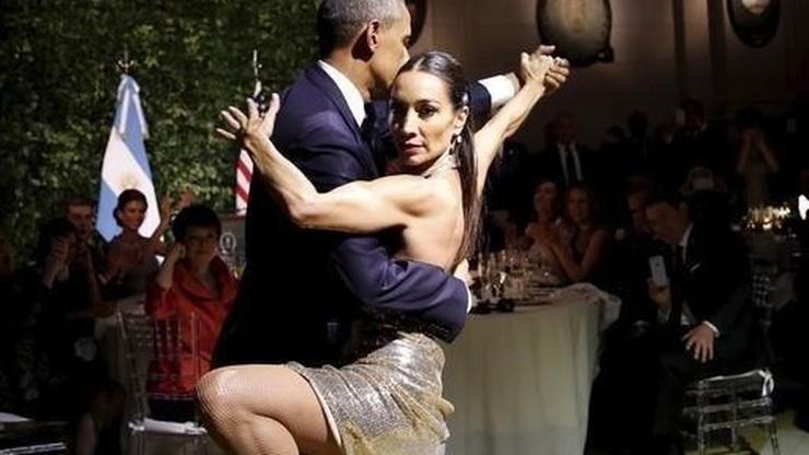 Barack Obama tańczy tango w Argentynie