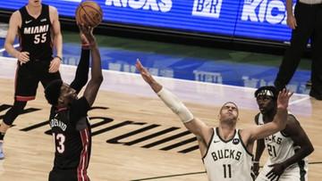 NBA: Bucks o krok od drugiej rundy
