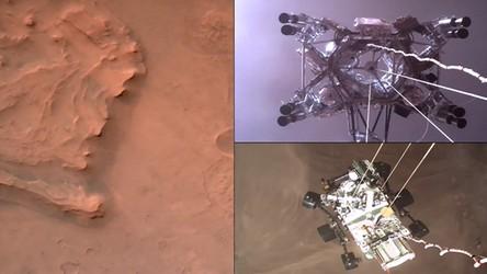Zobaczcie spektakularny film z momentu lądowania nowego łazika na Marsie [FILM]