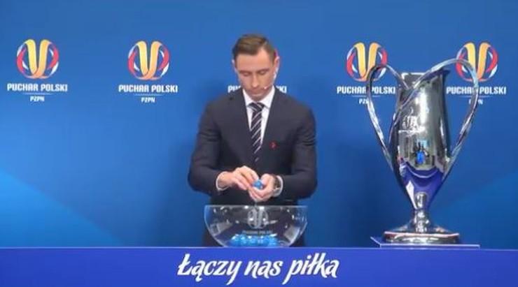 Zamieszanie podczas losowania Pucharu Polski. Ceremonię trzeba było powtórzyć
