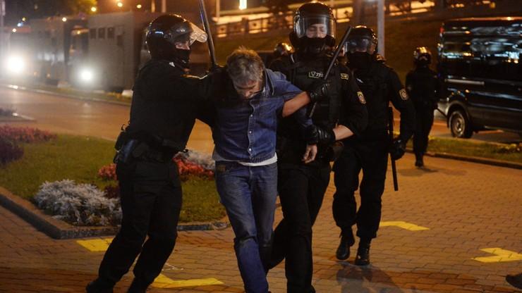 Inauguracja Łukaszenki. Protesty w Mińsku, są ranni
