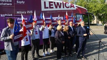 """Wyruszył """"lewicobus"""". """"Jedziemy w Polskę powiatową"""""""