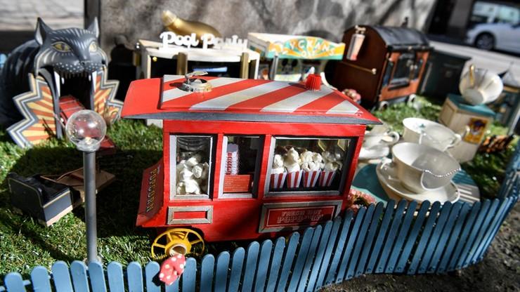 Miniaturowy park rozrywki dla myszy hitem w szwedzkim mieście Malmö